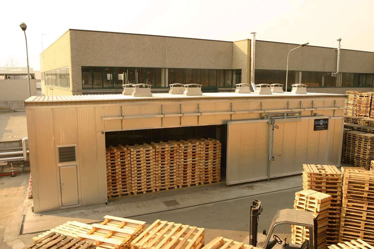fumigacja palet drewnianych na eksport